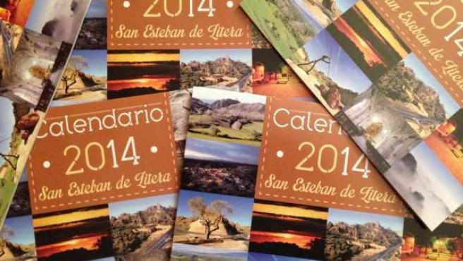 Calendario de San Esteban de Litera.