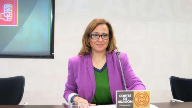 La diputada del PSOE, Mayte Pérez
