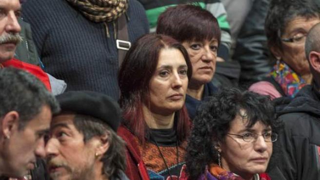 El Colectivo de Presos Políticos Vascos (EPPK) ha organizado este 4 de enero un acto en el Kafe Antzoki de Durango con etarras excarcelados a raíz de la derogación de la doctrina Parot.
