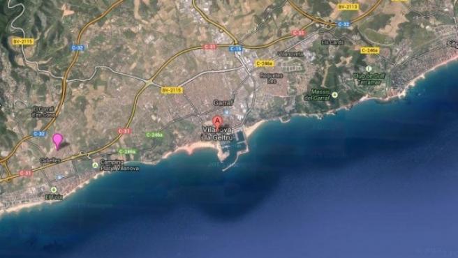 Localidad barcelonesa de Vilanova i la Geltrú.