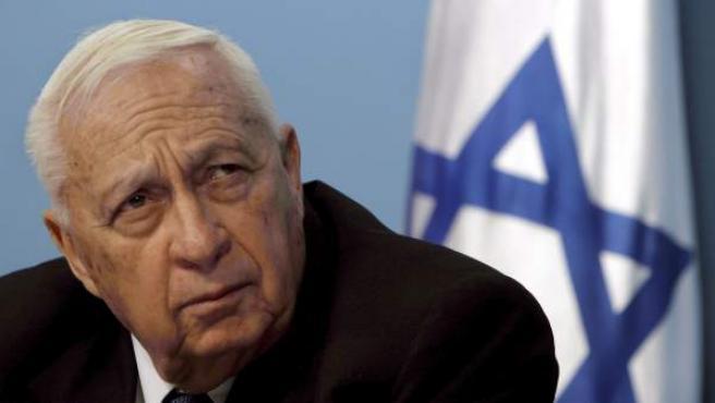 Fotografía de archivo de Ariel Sharon, realizada en 2005.