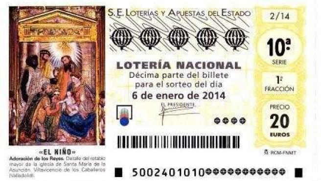 Décimo Lotería del Niño