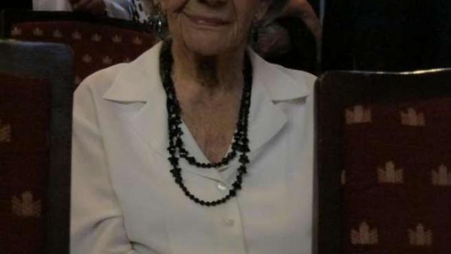 La Escritora Ana María Matute En Barcelona