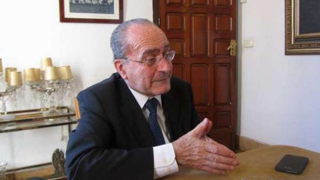 El alcalde de Málaga, Francisco de la Torre