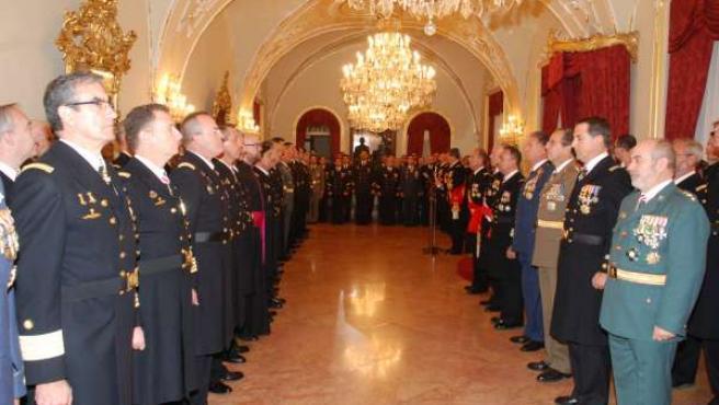 La Pascua Militar 2014 en Capitania General