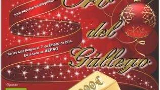 El sorteo El Oro del Gállego se celebra este martes.