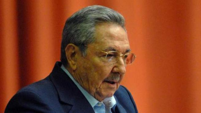 Raúl Castro, durante una sesión de la Asamblea Nacional de Cuba.