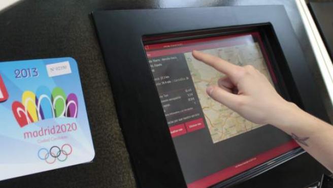 Simulador de tarifas de taxi en el aeropuerto de Barajas