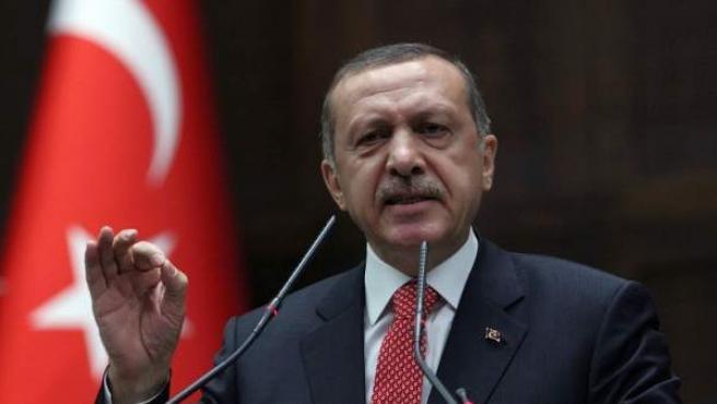 El presidente de Turquía, Recep Tayyip Erdoğan.
