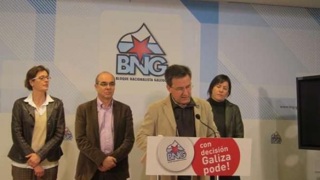 Presentación propuesta de ley reforma electoral BNG