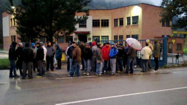 Trabajadores de Felguera Melt.