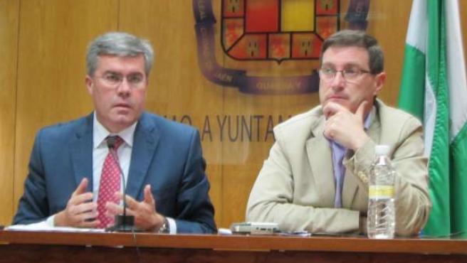 José Enrique Fernández de Moya y Miguel Contreras