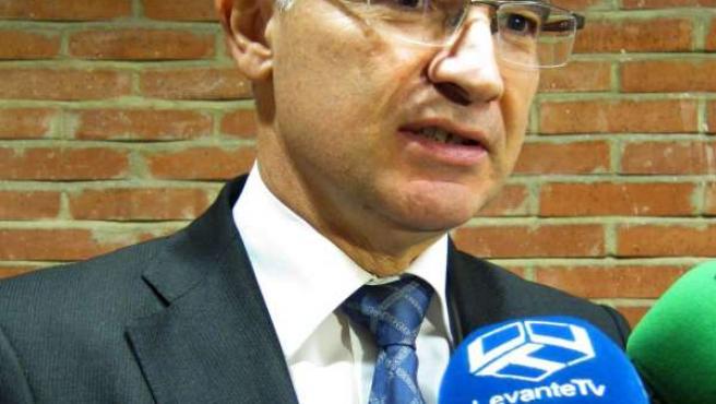El secretario general del PPCV, Serafín Castellano.