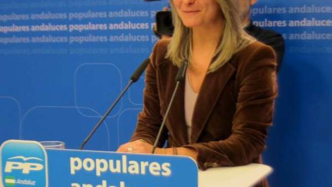 La vicesecretaria del PP-A Carolina González Vigo