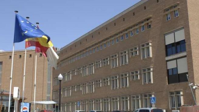 Fachada Del Hospital Nacional De Parapléjicos