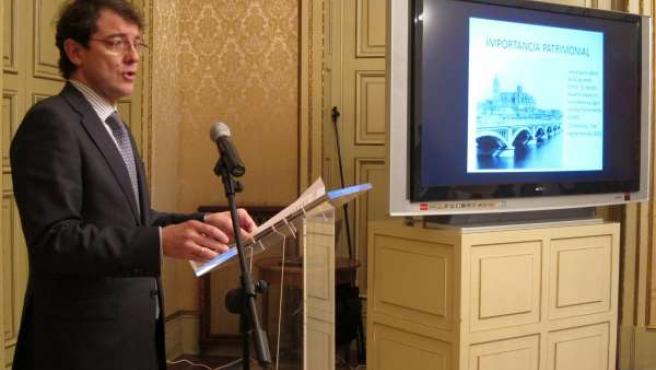 Fernández Mañueco en la presentación