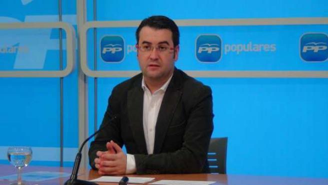 Javier Merino, portavoz PP en el Ayuntamiento de Logroño