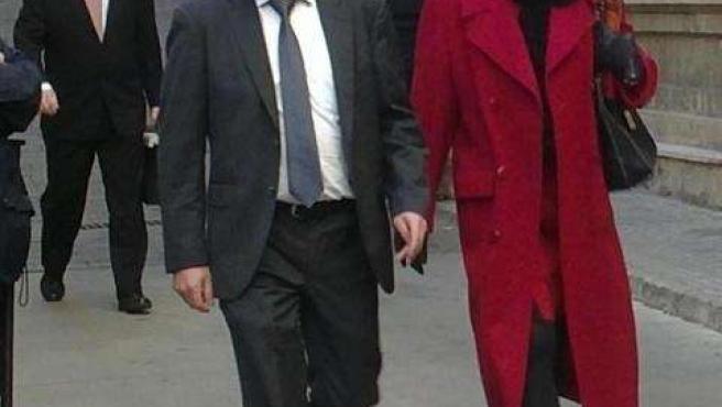 Fiscal Pedro Horrach, cuesta de los Juzgados de Palma