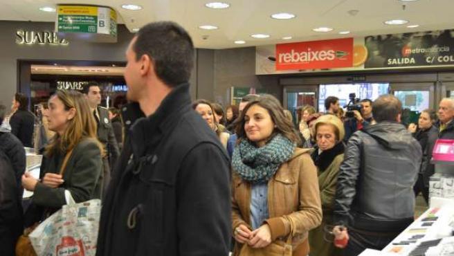 Rebajas en un centro comercial de Valencia