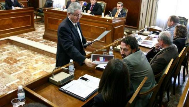 Pleno del Ayuntamiento de Gandia