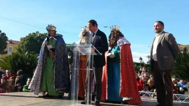 Recepción de los Reyes Magos en el Ayuntamiento