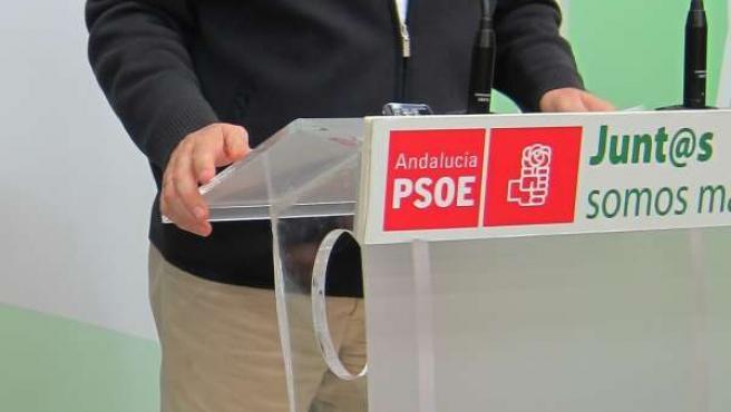 El secretario general del PSOE en Córdoba, Juan Pablo Durán