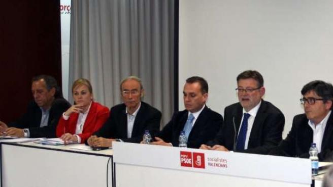 Reunión de la Comisión Ejectiva Nacional del PSPV