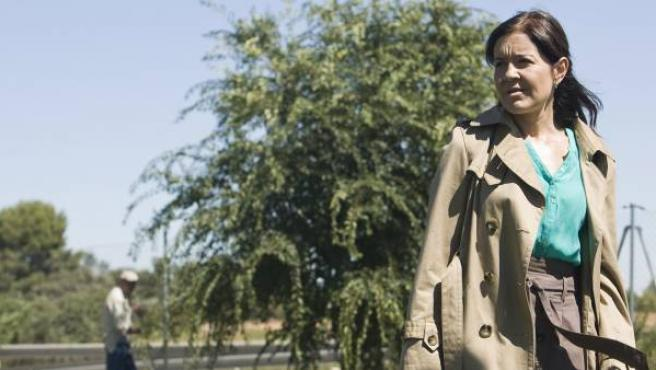 La inspectora Lebrel (María Pujalte) en 'Los misterios de Laura'.