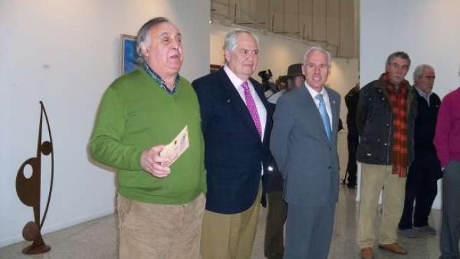 Alberto Rodríguez (i), Guillermo García (c) y Luis Domingo González (d)