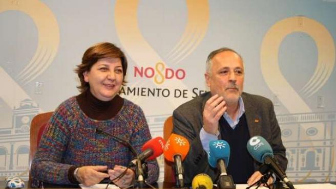 Josefa Medrano y José Manuel García