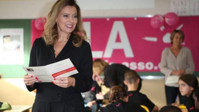 La exprimera dama francesa, Valérie Trierweiler, en una imagen de archivo.