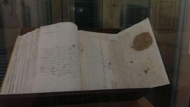 Imagen del documento expuesto.