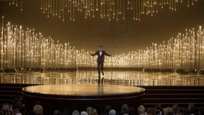 Seth MacFarlane, durante la ceremonia de los Premios Oscar 2013.