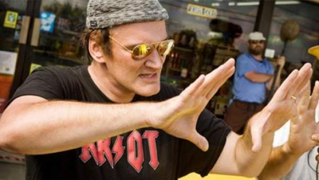 Quentin Tarantino, director de cine.