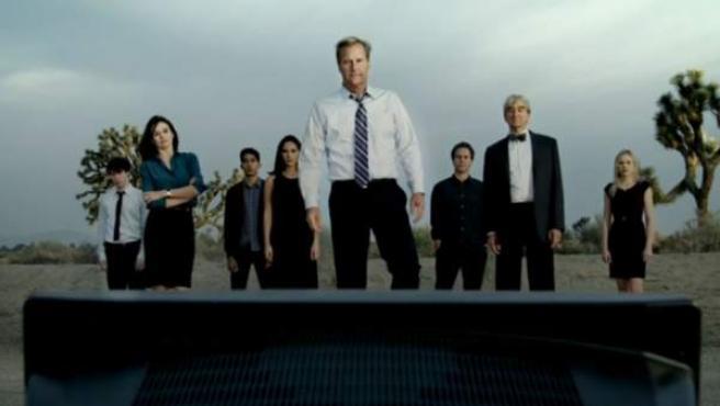 Imagen de un tráiler de la serie de la HBO 'The Newsroom'.