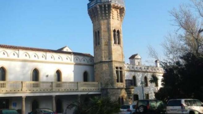 Casa convento de la finca de La Almoraima en la que reside la directora gerente