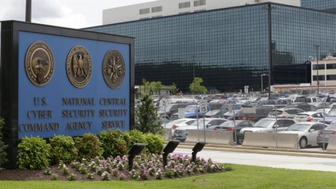 Sede de la Agencia Nacional de Seguridad (NSA) en Fort Meade, Maryland, Estasdos Unidos.