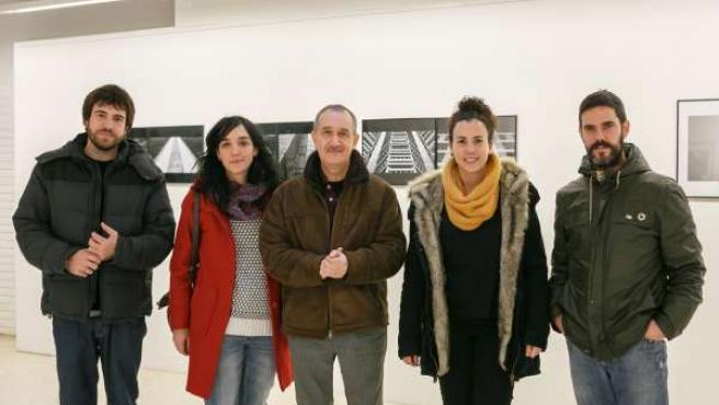 Mikel Tellechea, Miren León, Carlos Cánovas, Irene Cárdenas e Iñaki Zaldua.
