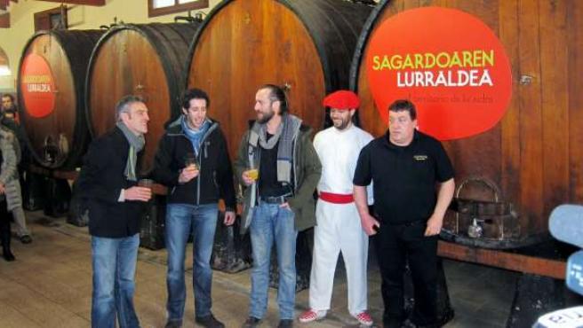Kalakan abre la temporada de sidra de Astigarraga