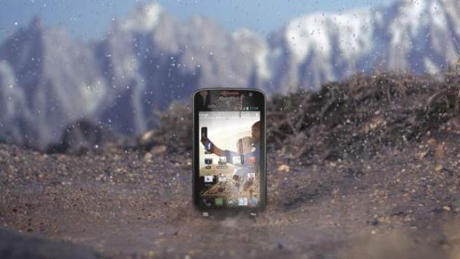 El smartphone para montañistas 'Quechua Phone'.