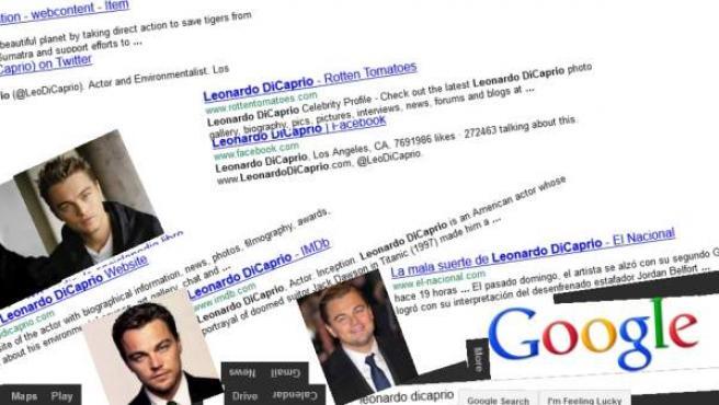 """Esto es lo que ocurre cuando hacemos una búsqueda en Google tras haber escrito previamente """"Google Gravity""""."""