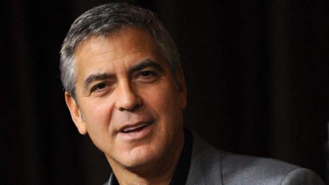 El actor estadounidense George Clooney.