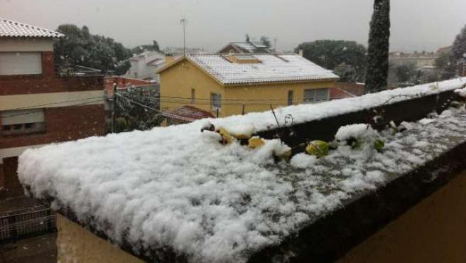 Nieve, Temporal (ARCHIVO)