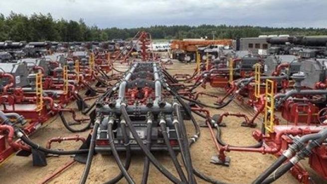 Un proyecto de 'fracking' de Frontera Energy.