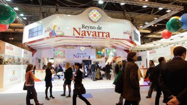 Stand de Navarra en Fitur.