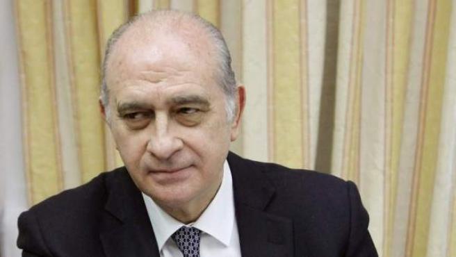 El ministro de Interior, Jorge Fernández Díaz, en una imagen de archivo.