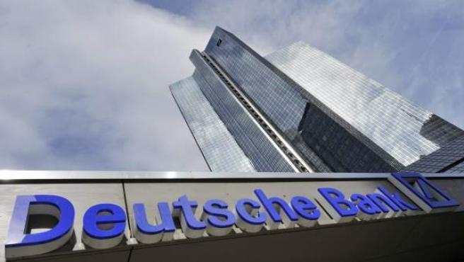 Imagen de archivo de una sede del Deutsche Bank.