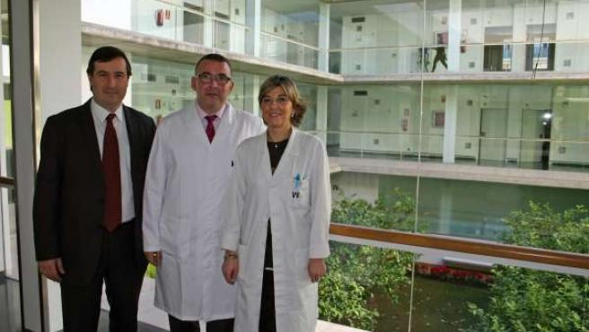Mesa del Castillo, el doctor Bravo Castillo y la doctora Mora