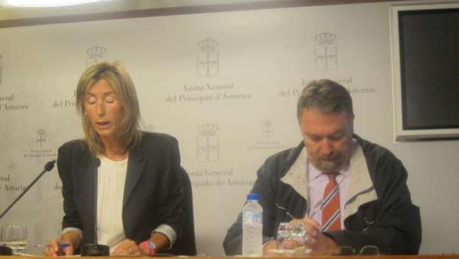 Esther Landa e Isidro Martínez Oblanca.