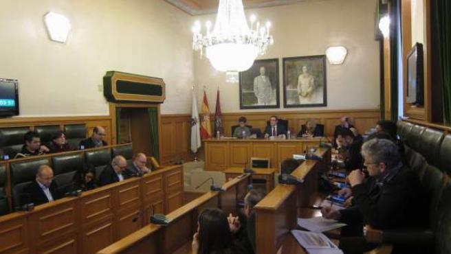 Pleno de Santiago para la aprobación de los presupuestos